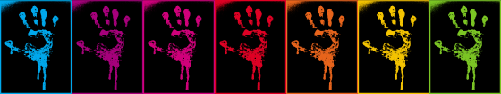 Teintes du logo Sillage d`Encre